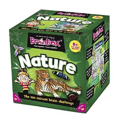 Green Board Games - BrainBox Naturaleza (importado de Inglaterra) de Green Board Games