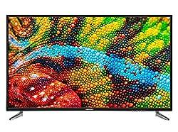 MEDION P16500 163,8 cm (65 Zoll) UHD Fernseher (4K Ultra HD, Triple Tuner, DVB-T2 HD, PVR, USB, HDMI, CI+, Mediaplayer)