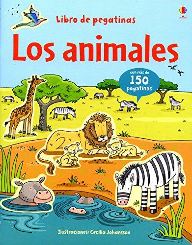 Animales, los (Libros De Pegatinas) por Jessica Greenwell