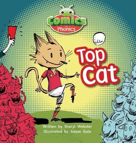 T323A Comics for Phonics Top Cat Pink B Set 4 (Bug Club  (ESPO)) -