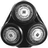 Têtes de Rasoir Rotatives de Rechange, Tête de coupe Compatible pour Philips SH50 S5000 SH70 SH90 RQ10 RQ11 RQ12 - électrique