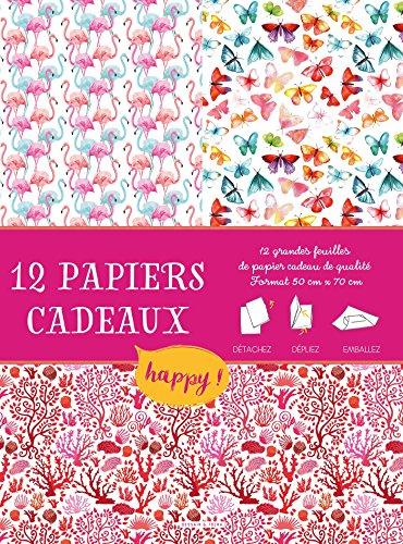 Papiers cadeaux créatifs Happy par Collectif