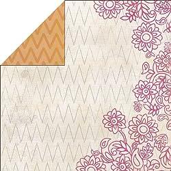 Indie Chic Diseño de pájaros papel para arreglos florales