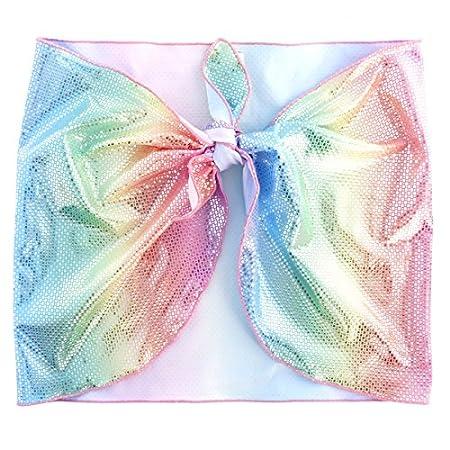 Princesse Ilou Paréo enfant multicolore brillant Rainbow