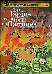 Les lapins et la forêt en flammes
