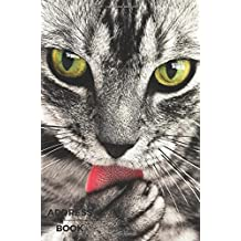 Address Book: Birthdays & Address Book for Contacts, Addresses, Phone Numbers, Email, Organizer Journal Notebook A5 (Address Books): Volume 1 (Cats)