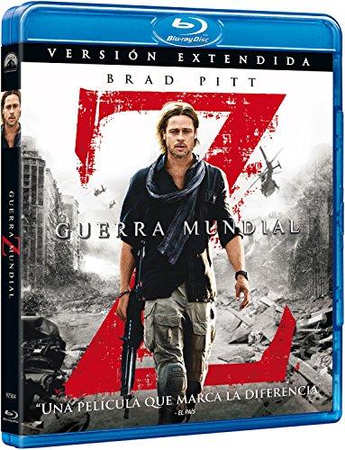Guerra Mundial Z [Blu-ray]