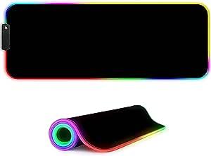 Marcelen Rgb Gaming Mauspad 800x300x4mm Xl Rgb Led Elektronik