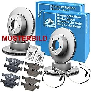 Bremsanlage von ATE u.a f/ür Mini Bremsscheiben /& Bremsbelagsatz 1420-22983 Bremsen Set inkl Vorderachse