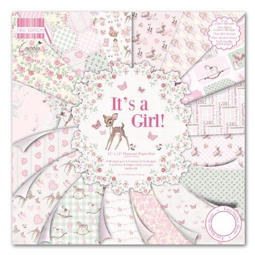 Girl Premium Paper Pad 12