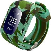 Smart Watch pour enfants, 9Tong GPS Tracker SmartWatch téléphone pour les enfants avec anti-Lost SOS carte SIM slot…