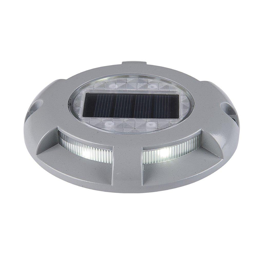 Faretti Da Esterno A Pavimento.Yunt 4pcs Led Solar Pavimento Luci Faretto Ip65 Impermeabile 3 W Lampada Da Esterno Lampada Da Incasso Al Suolo Ausse Spike Illuminazione Per Giardino