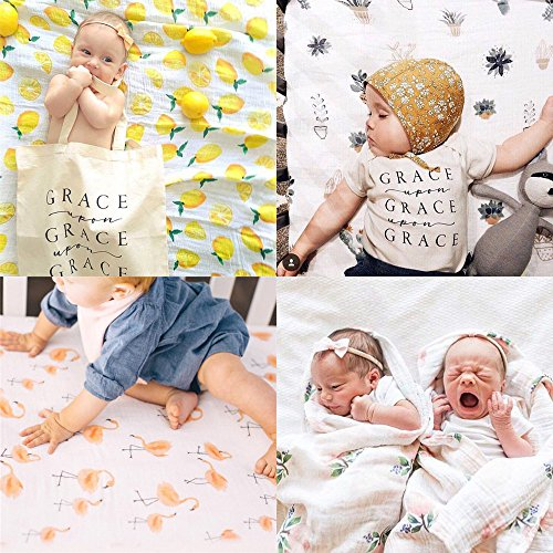 Baby Musselin Swaddle Decke - 120x120 cm