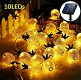 Solar Ananas 20 LED String Light 5M Fee wasserdichte Lichter Weihnachten Home Hochzeit Dekoration Outdoor Zaun Licht