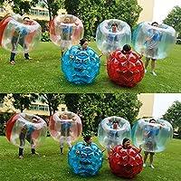 JWBOSS 60cm Niños Niños Deportes al aire libre Jugar Juguete Usable Infatable Bumper Pelota CLORURO DE POLIVINILO Parach