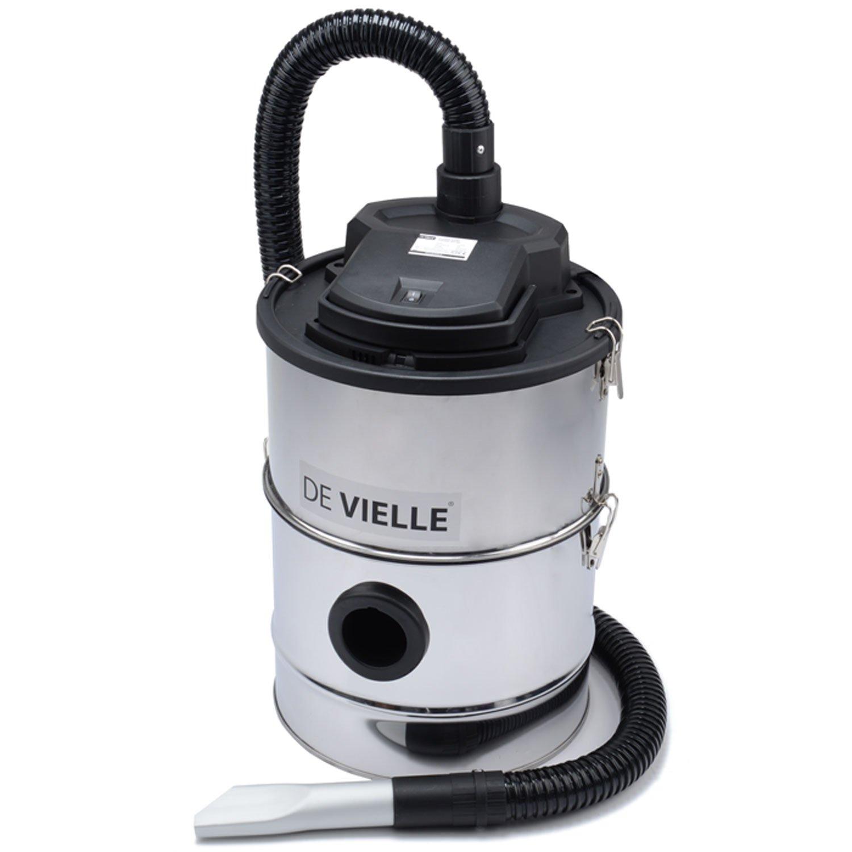 De Vielle Ash Vacuum Cleaner, Metal, Black, 25 Litre: Amazon.co.uk ...