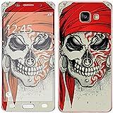 Royal Sticker RS.127934 Autocollant pour Samsung Galaxy A3 2016 Motif Tattoo Skull