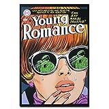 Micro Gorilla Young Romance DC Comics Carte Postale Authentique avec Cadre Crestwood Prize Cadeau Drôle