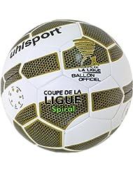 Uhlsport TENOR SPIRAL balón de Match color blanco/oro/negro/verde, tamaño 5