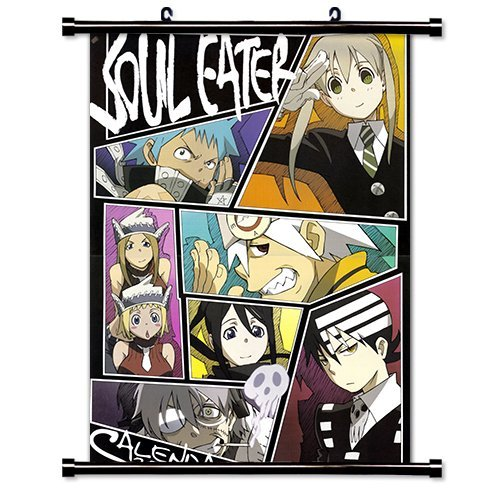 Soul Eater Anime Fabric Wall Scroll Poster (16