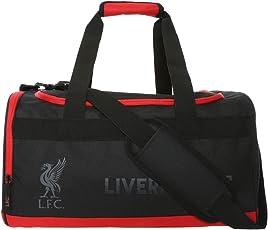 Offizielle FC Liverpool LFC Sporttasche, Tasche in Schwarz/Rot