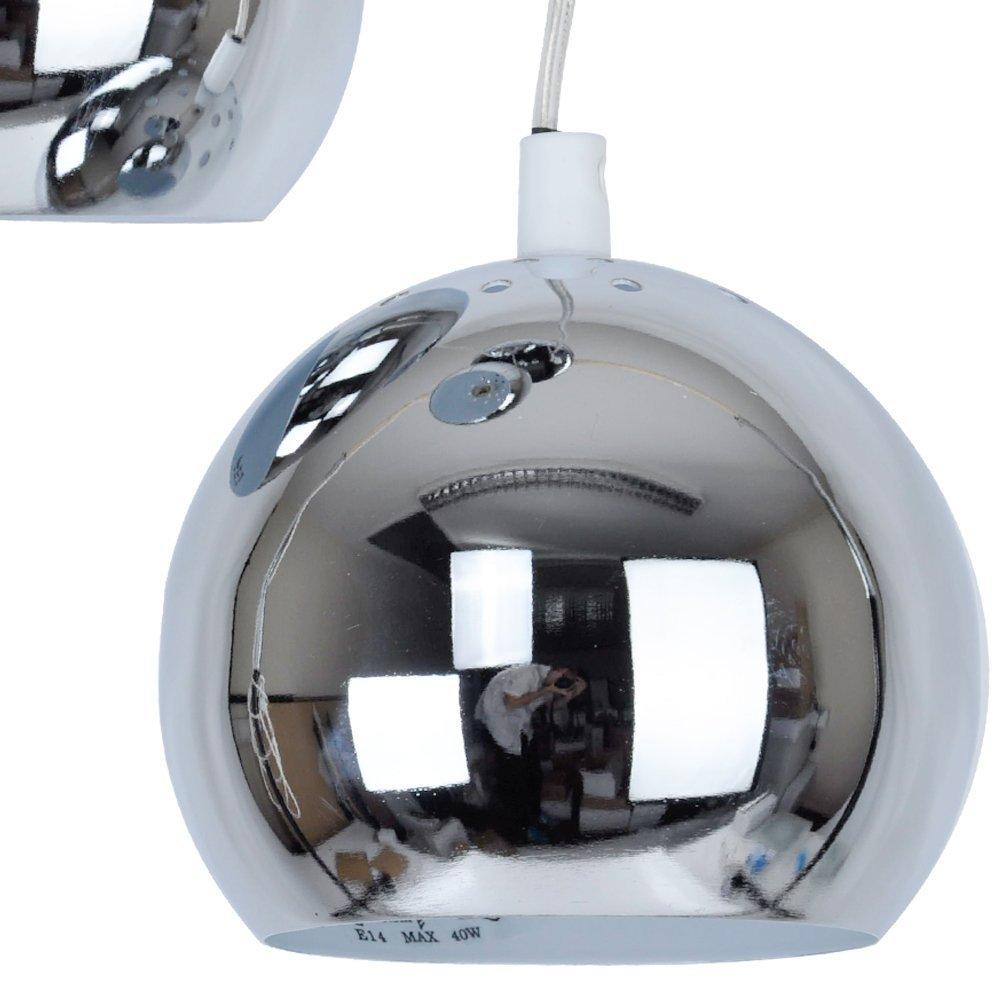 Plafoniera moderna, con 3 lampade a sospensione/3 luci spot - con ...