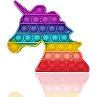 langjiao Push Bubble Sensorielle Fidget Jouet, Silicone Anti-Stress Sensoriels à Presser Jouets Educatifs, jouet…