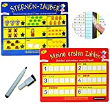 Unbekannt Stift + Pressogramm: schreib und wisch Weg -  Meine ersten Zahlen & Rechenübungen & Schreibübungen  - rechnen zählen - mit Selbstkontrolle ! - Schule Kindeg..