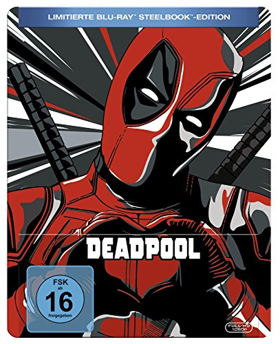 Deadpool Steelbook Blu-ray [Limited Edition]