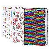 Vamei Meerjungfrau Pailletten Notebook Reversible Pailletten Büro Notebook...