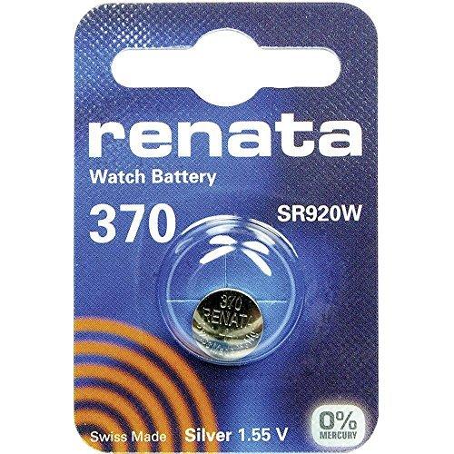 370 (SR920W) Pila de Botón / Óxido de Plata 1.55V / para Los Relojes, Linternas, Llaves del Coche, Calculadoras,...