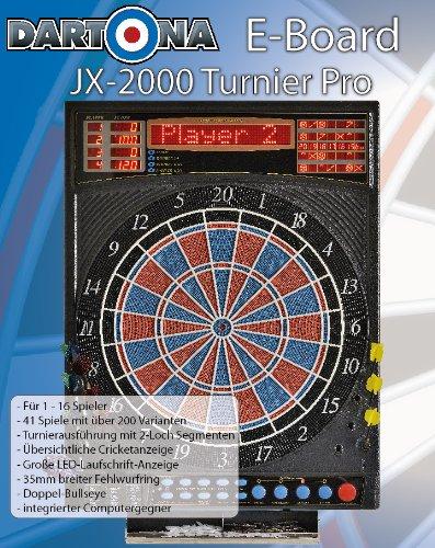 Elektronische Dartscheibe Dartona JX2000 Turnier Pro – Turnierscheibe mit 41 Spielen und über 200 Varianten - 6