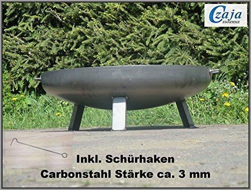 feuerschale edelstahl 100 cm Czaja Stanzteile Feuerschale Bonn Ø 80 cm