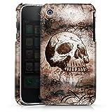 Apple iPhone 3Gs Housse étui coque protection Halloween Tête De Mort Crâne
