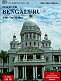 Discover Bengaluru - A Travel Map; this 2018 edition is presented in the format of a folded map on Bengaluru. The side A of Discover Bengaluru edition has a detailed map of Bengaluru city highlighting key areas in Bengaluru. All major roads, ...