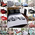 AR's Unique Designs Duvet Cover with Pillow Case Quilt Cover Bedding Set All Sizes - low-cost UK light store.