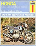 Honda 250G5 & 360 Twins (including CJ250T & CJ360T models) from 1974 onwards. Haynes Owners Workshop Manual.: All 249 and 356 Models from 1974 Onwards by Mansur Darlington (1976-04-06)