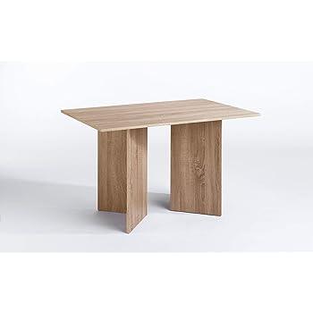 CAVADORE Tisch ANGLE / praktisch kleiner Küchentisch 110 cm breit ...