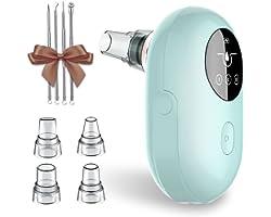 Mosen Aspirateur Point Noir Vacuum Extracteur de Comédons Nettoyant de Pores Professionnel Rechargeable USB Appareil Peau Soi