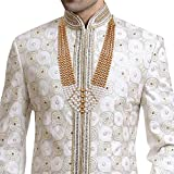 I Jewels Traditional Gold Plated Dulha Necklace/Moti Mala...