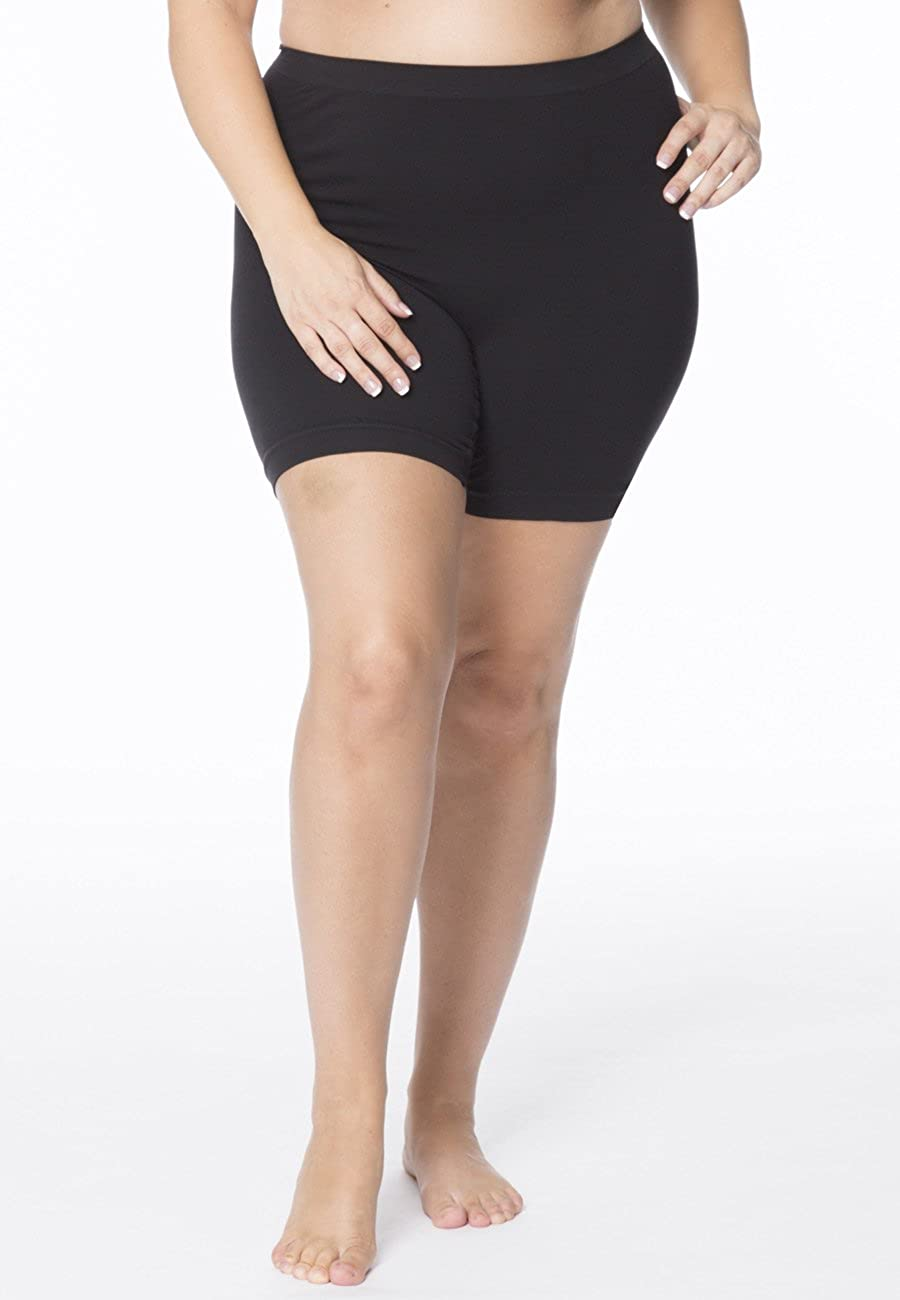 159a31685 All Woman Plus Size Anti Chafing Knickers Short Leg Guaranteed No Riding Up  SINGLE PAIR  Amazon.co.uk  Clothing