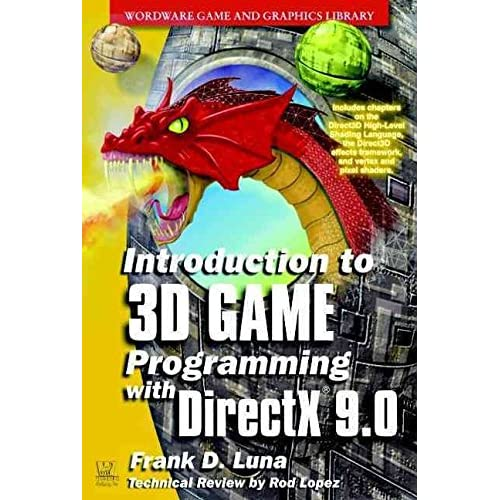 [(Introduction to 3D Game Programming with DirectX 9.0 2002)] [By (author) Frank D. Luna] published on (August, 2003)