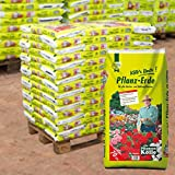 Pflanzerde auf Palette - 33 Säcke à 70 Liter Blumenerde - für Balkon- und Gartenpflanzen - Gärtnerqualität - Kölle's Beste Pflanzerde