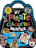 My Pirate Colouring Backpack (Colouring and Sticker)