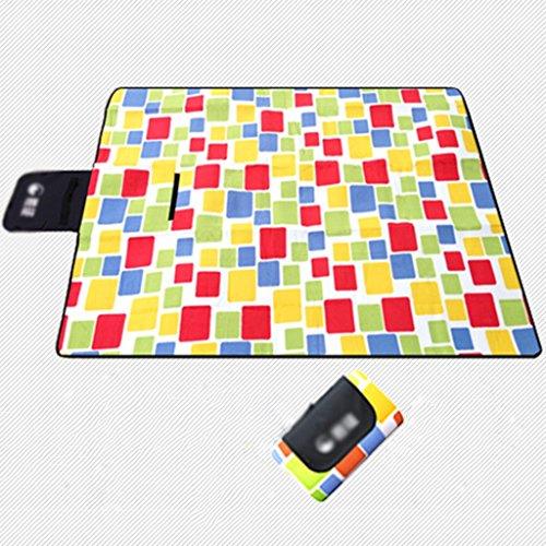 TYJ Picknick-Decken Acryl Picknick-Matten Feuchtigkeitsfeste Pad Im Freien Camping Portable Mats Park Kissen Crawling Mat Grid ( größe : 150*180cm )