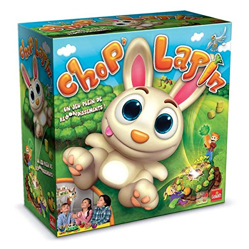 Goliath, Board Game, Snuffie Hup, Chop 'Rabbit