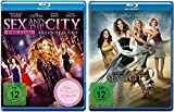 Sex and the City Der Film 1+2 [Blu-ray]