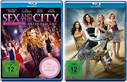 Sex and the City Teil 1+2 - Die Filme [Blu-ray Set] (1 City Sex)