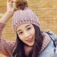 FQG*Cappelli invernali figli cadono incantevole inverno caldo marea ricreative all'aperto il tappo auricolare, tessitura a maglia hat studenti di sesso femminile , nero