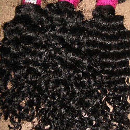 jasnellehair 12 cheveux complète 35,6 cm N ° & 40,6 cm inches  200 grams  100% Virgin Remy péruviens non traités ondulés Qualité AAAA Couleur n ° 1B cheveux humains